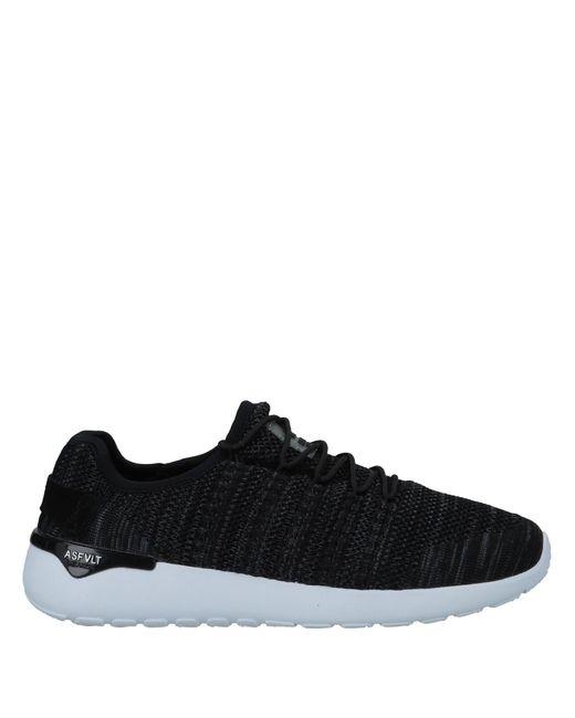 ASFVLT Sneakers Black Low-tops & Sneakers