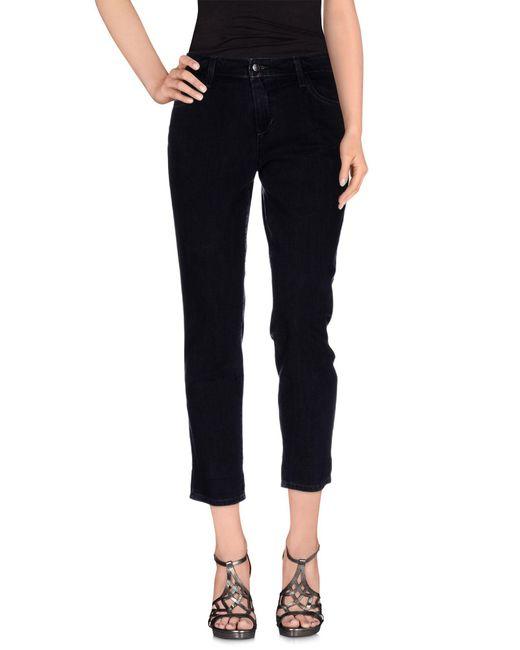 Joe's Jeans - Black Denim Pants - Lyst