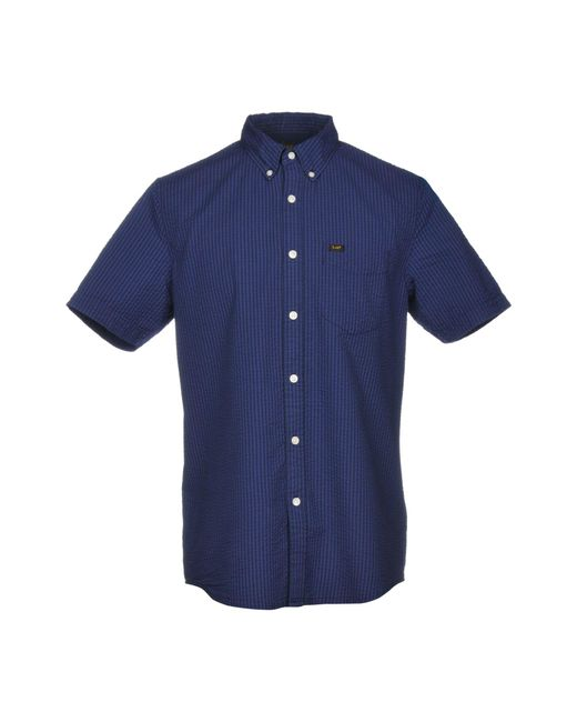 Lee Jeans - Blue Shirt for Men - Lyst