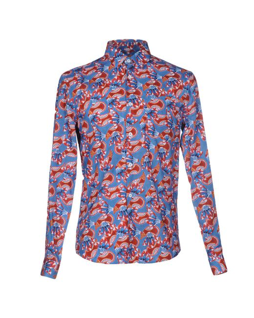 Éditions MR - Blue Shirt for Men - Lyst