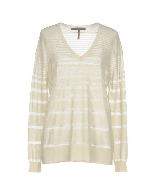 Halston Heritage   White Sweater   Lyst