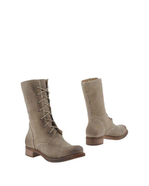 Cherevichkiotvichki - Natural Ankle Boots - Lyst