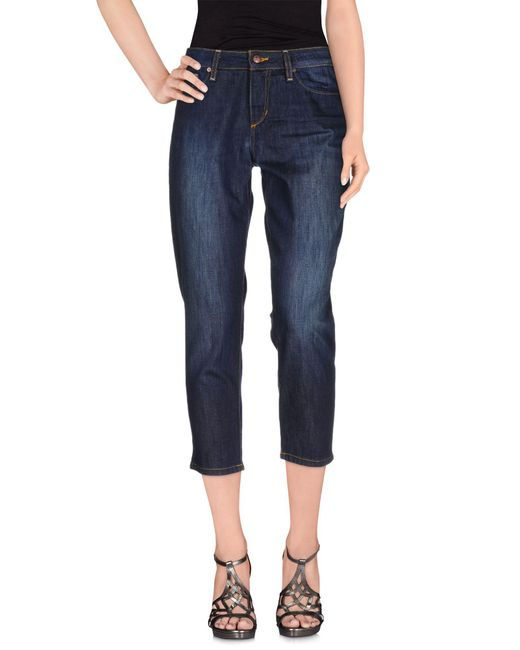 Joe's Jeans - Blue Denim Trousers - Lyst