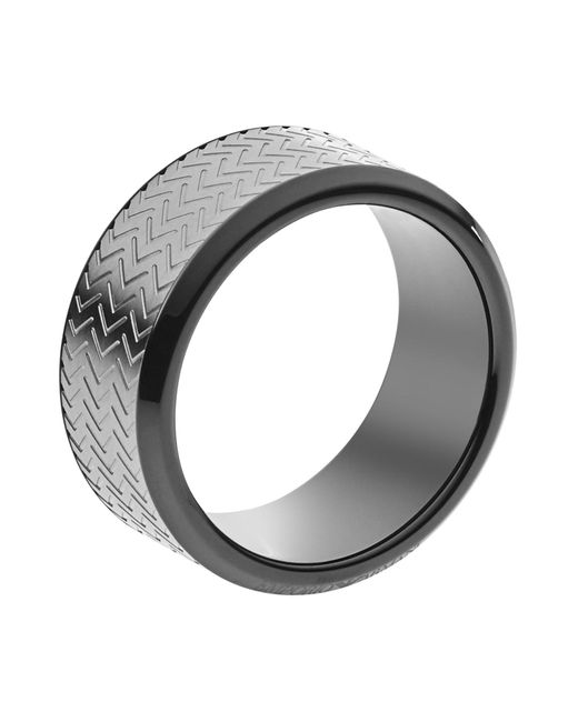 Emporio Armani - Metallic Rings for Men - Lyst