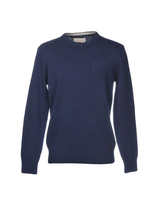 Timberland - Blue Sweater for Men - Lyst