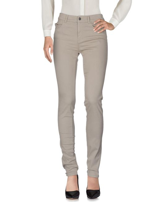 Armani Jeans - Gray Casual Pants - Lyst