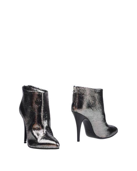 Kalliste - Metallic Ankle Boots - Lyst