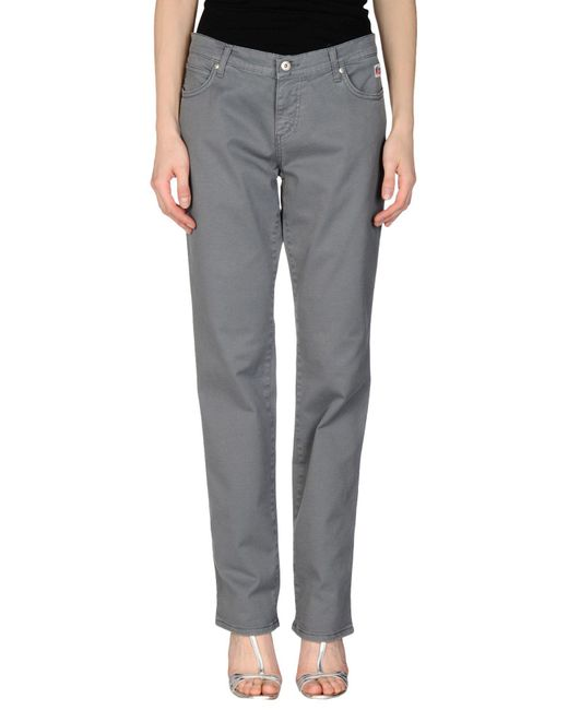 Roy Rogers - Gray Casual Trouser - Lyst