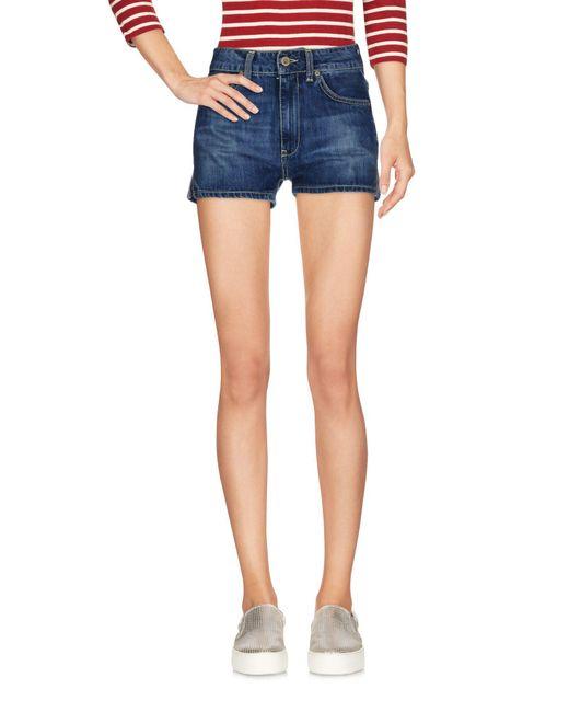 Dondup Blue Denim Shorts
