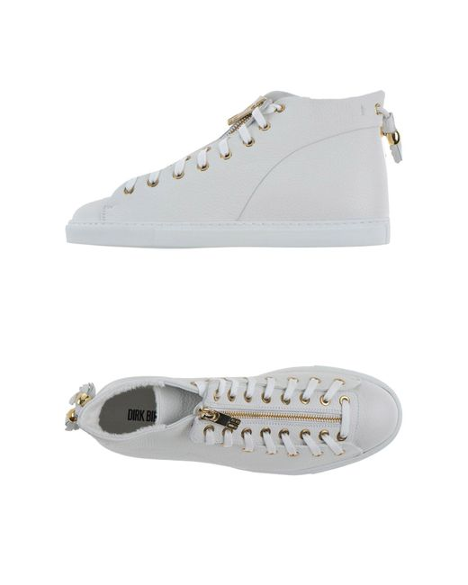 Dirk Bikkembergs | White High-tops & Sneakers | Lyst