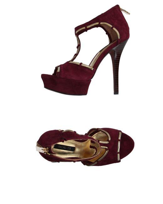 Rachel Zoe | Purple Sandals | Lyst