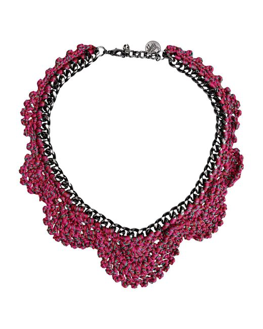 Venessa Arizaga | Pink Necklace | Lyst