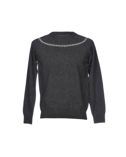 Still By Hand - Gray Jumper for Men - Lyst
