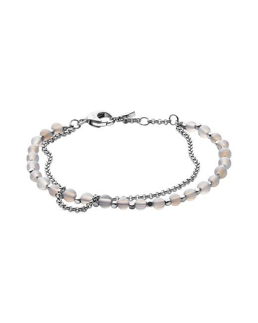 Fossil - Metallic Bracelets - Lyst