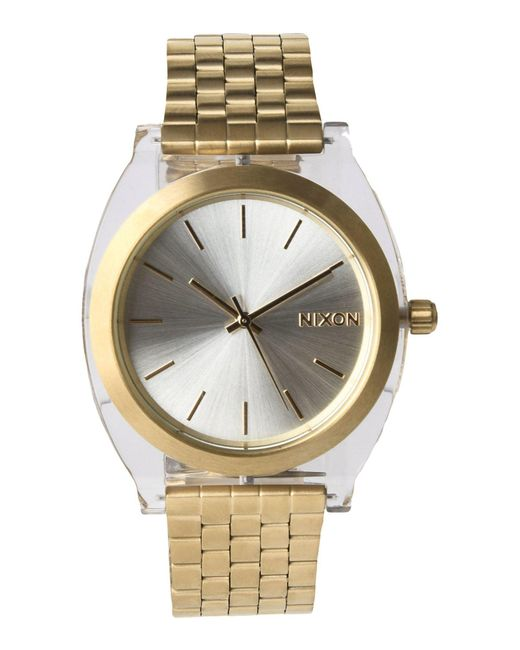 Nixon - Metallic Wrist Watches - Lyst