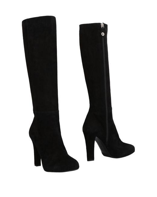 Lella Baldi - Black Boots - Lyst