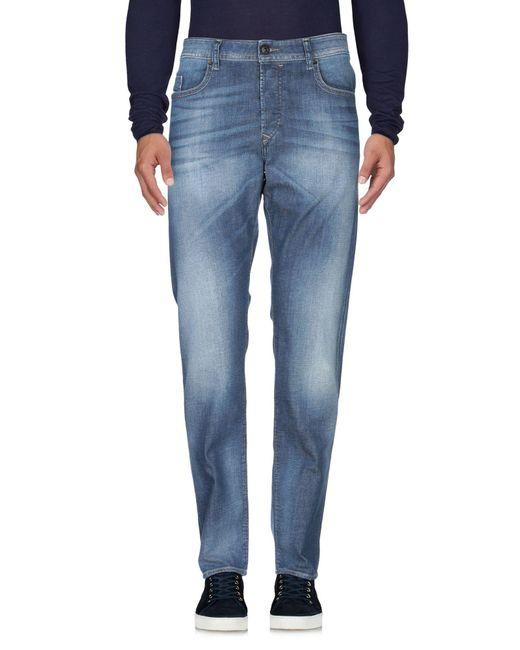 DIESEL - Blue Denim Trousers for Men - Lyst