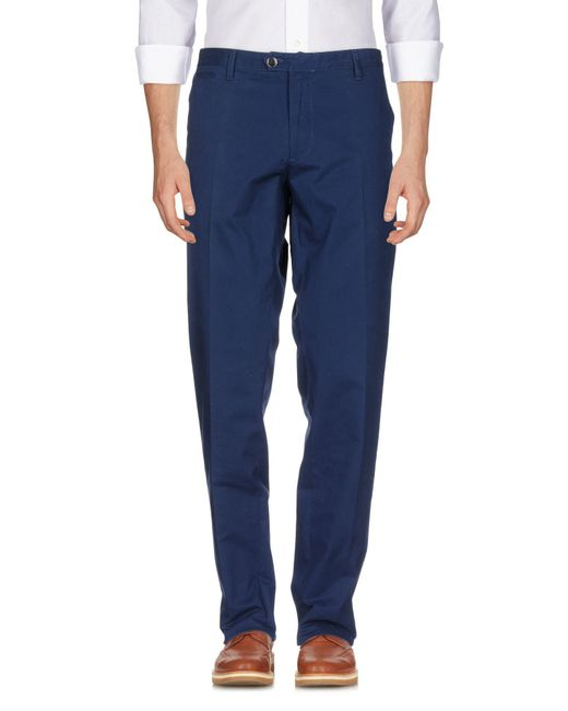 Brooksfield - Blue Casual Trouser for Men - Lyst