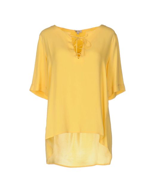 Her Shirt - Yellow Blouse - Lyst