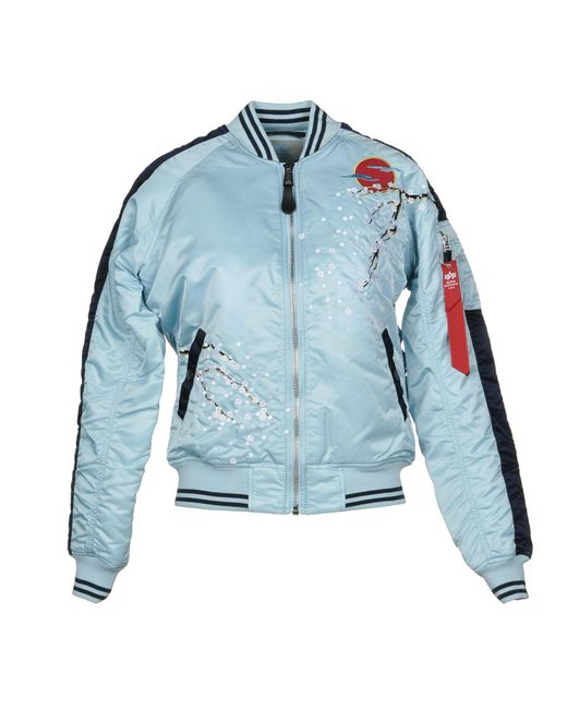 Alpha Industries - Blue Jackets - Lyst