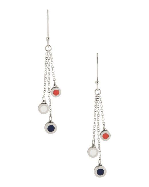 Tommy Hilfiger | Metallic Earrings | Lyst