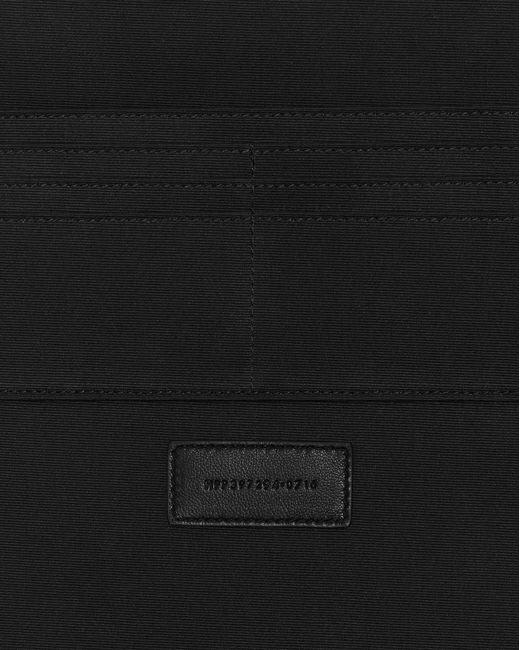 Saint Laurent - Black Zipped Tablet Holder In Grain De Poudre Embossed Leather for Men - Lyst