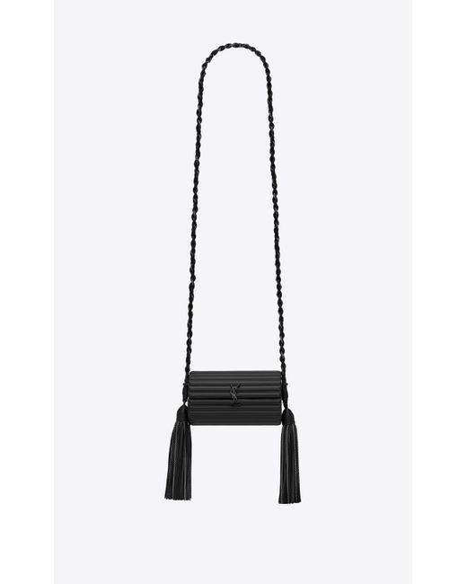 Saint Laurent - Black Opium Box In Smooth Leather - Lyst