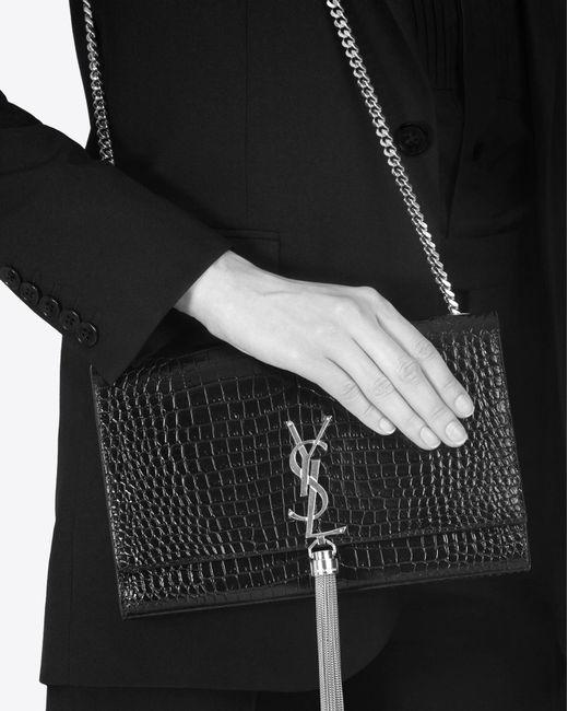 medium Kate shoulder bag - Black Saint Laurent DCzJIV