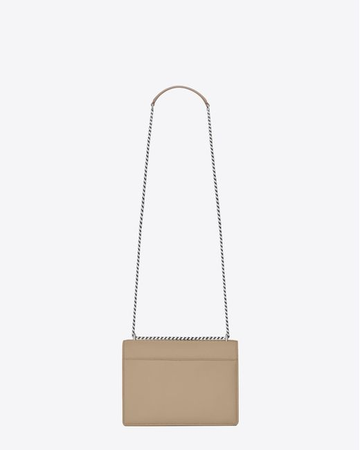 04ad24636ca4 ... Saint Laurent - Natural Sunset Medium In Smooth Leather - Lyst ...