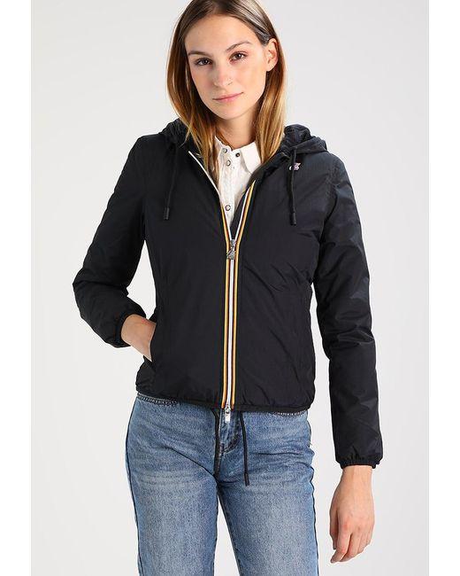 K-Way   Black Marmot Light Jacket   Lyst