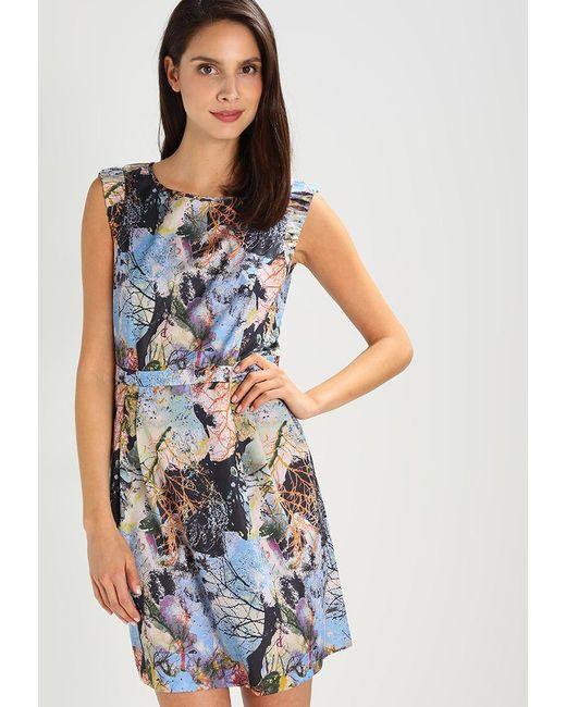 BOSS Orange | Blue Aday Summer Dress | Lyst