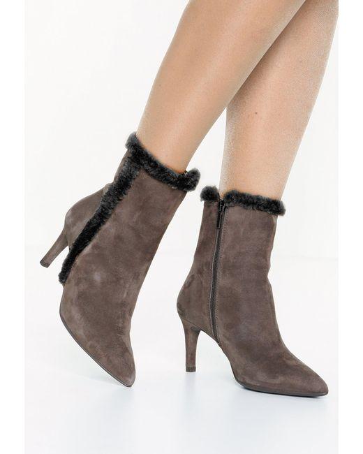 CTWLK | Brown Midi Boots | Lyst