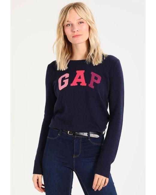 Gap | Blue Arch Jumper | Lyst
