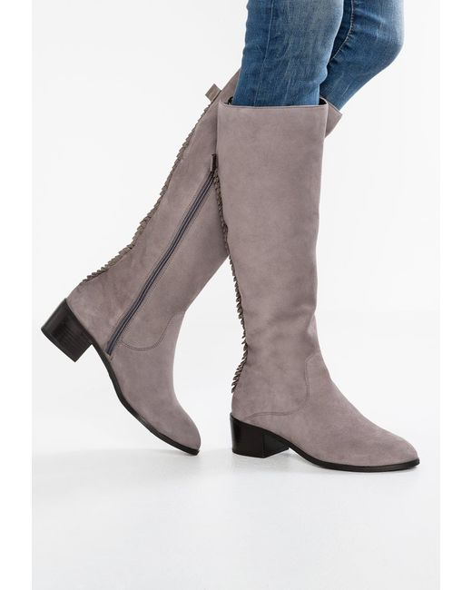 mint&berry | Gray Boots | Lyst