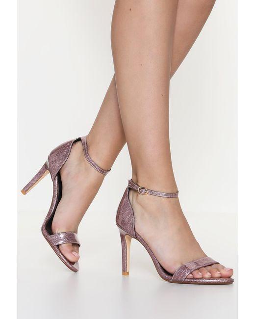 Dune | Pink Mortimer High Heeled Sandals | Lyst