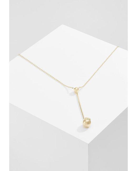 Elizabeth and James | Metallic Esser Pendant Necklace | Lyst