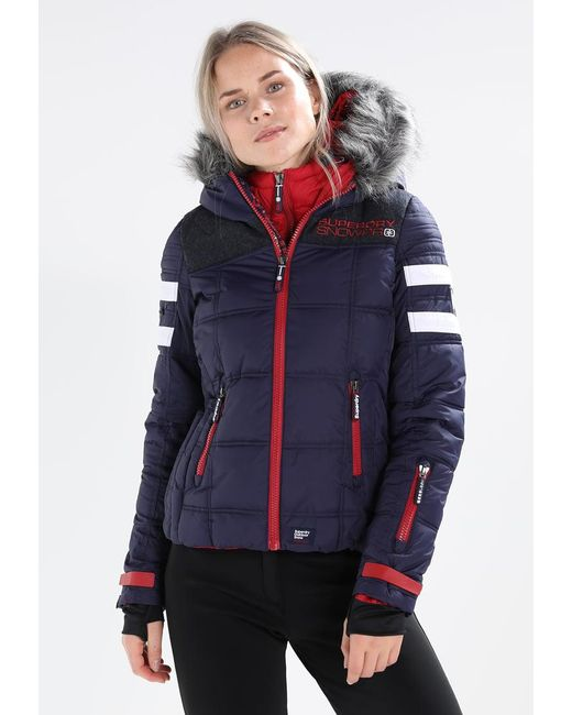 Superdry | Blue Racer Snowboard Jacket | Lyst