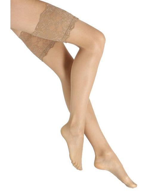 La Perla | Natural Tres Femme Over-the-knee Socks | Lyst