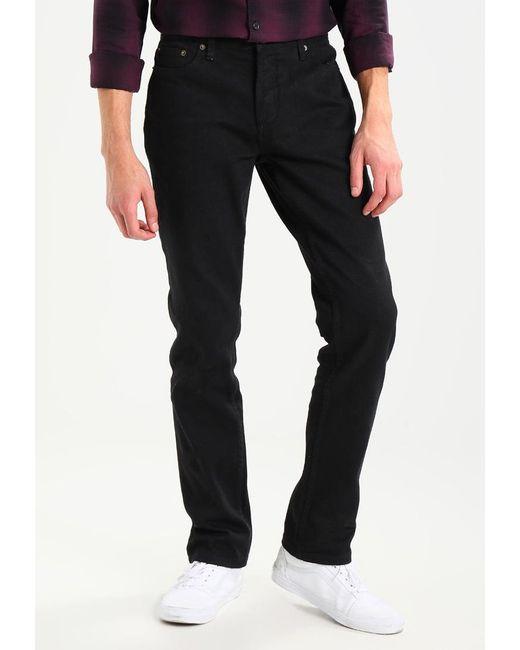 Huf | Black 5 Pocket Bull Straight Leg Jeans for Men | Lyst