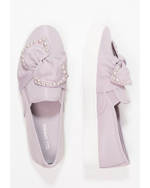 ... Call It Spring | Purple Camber Slip-ons | Lyst ...