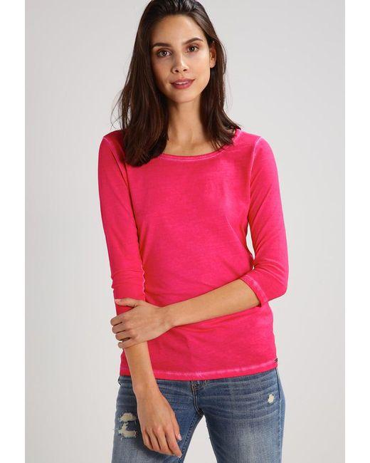 BOSS Orange | Pink Tasfias Long Sleeved Top | Lyst