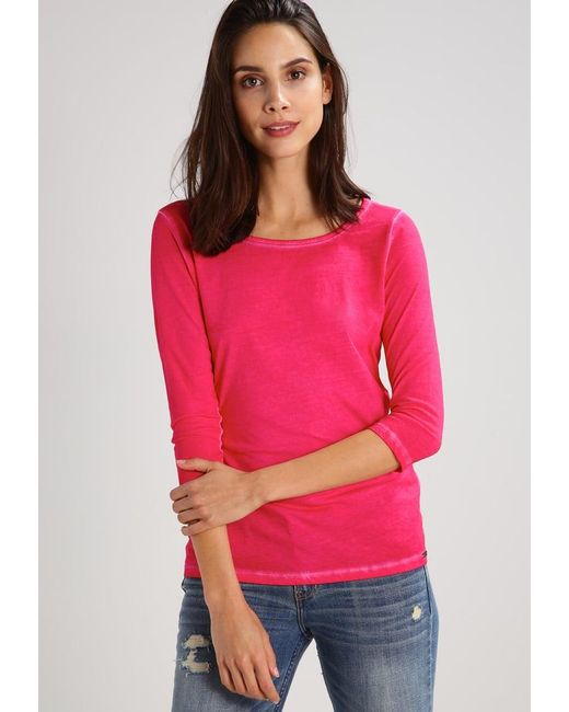 BOSS Orange | Pink Tasfias Long Sleeved Top | Lyst