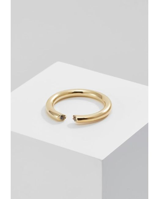 Elizabeth and James | Metallic Obi Ring | Lyst