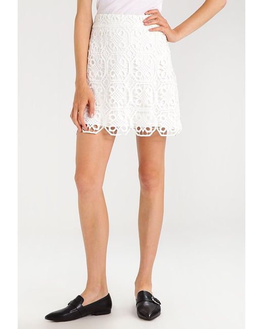 Endless Rose | White Scallop Lace A-line Skirt A-line Skirt | Lyst
