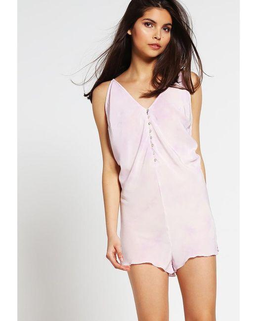 Free People   Purple Pyjamas   Lyst
