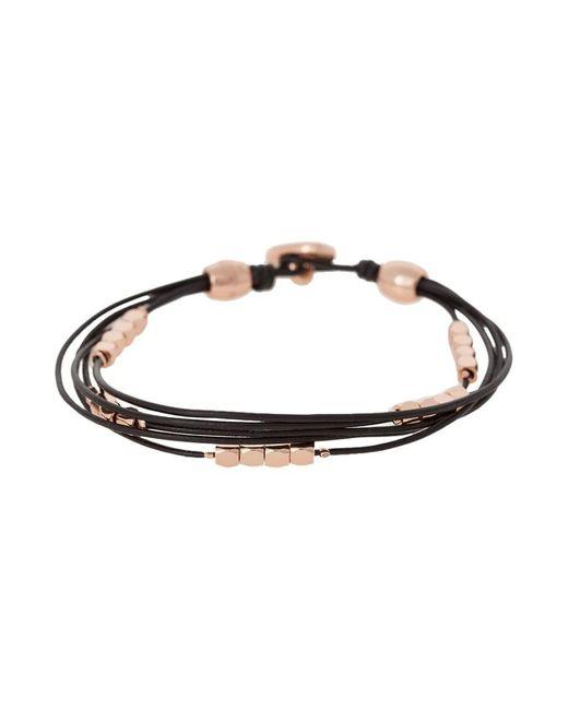 Fossil | Metallic Fashion Bracelet | Lyst