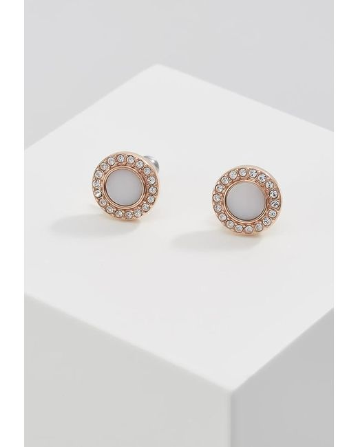 Fossil | Metallic Classics Earrings | Lyst