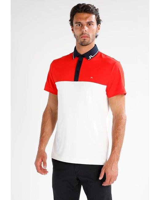 J.Lindeberg   Red Johan Slim Tourque Polo Shirt for Men   Lyst