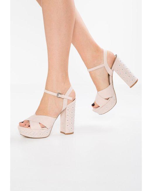 Miss Selfridge | Multicolor Crown Platform Sandals | Lyst
