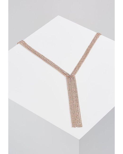 Miss Selfridge   Multicolor Cupchain Y-neck Necklace   Lyst